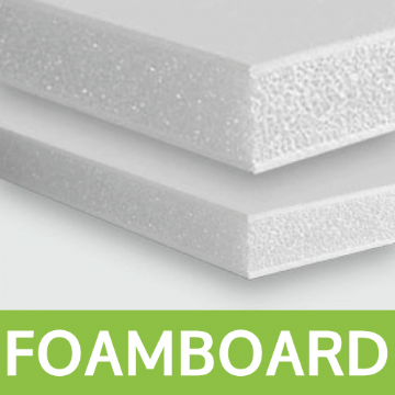 Single Sided Foamex Boards